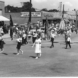 The Griffith 4th of July parade, circa 1960